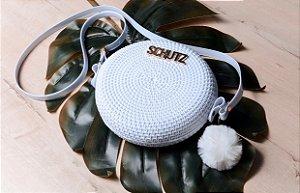 Bolsa Feminina de Ombro Schutz Lançamento Produto EXCLUSIVO -  Branco