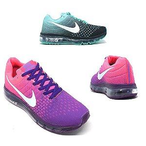 Tênis Feminino Nike Air Max Lançamento Academia Caminhada QUEIMA DE ESTOQUE