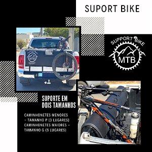 Transbike Para Caminhonete - Suporte Para Carregar Bicicletas - Camionetes Grandes e Pequenas