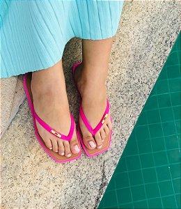 Chinelo Feminino Rasteirinha Arezzo - Pink