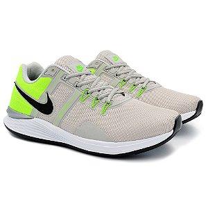 Tênis Masculino Nike Just Do It Lançamento 2021 - Cinza/Verde