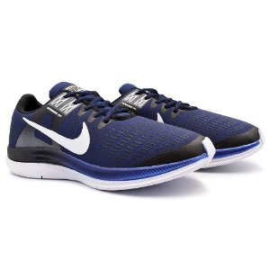 Tênis Masculino Caminhada Esportivo Nike Air Zoom Dynamic - Marinho/Branco