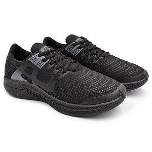 Tênis Masculino Caminhada Esportivo Nike Air Zoom Dynamic - Preto