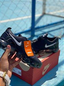 Tênis Esportivo Caminhada Masculino Nike Vapormax  - Preto