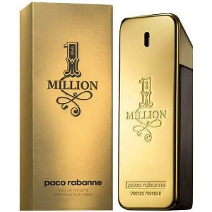 Perfume Paco Rabanne One Million Eau de Toilette Masculino 100ML