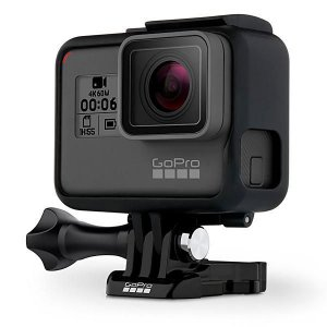 Filmadora GoPro Hero 6 Black 12MP | 4K | com Wi-Fi e Comando de Voz