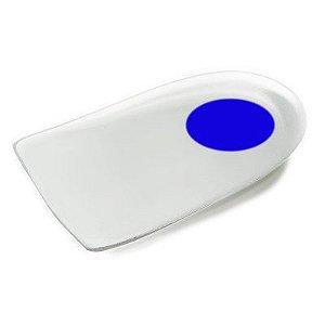 Calcanheira de Silicone com Ponto Azul sem Abas