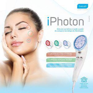 Aparelho de Fototerapia Corporal e Facial com LEDs e Infravermelho iPhoton