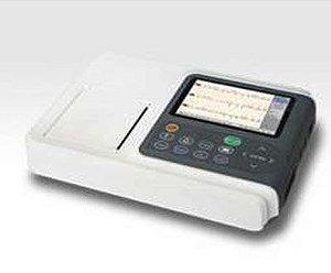Eletrocardiógrafo ECG com 3 Canais