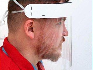 Protetor Facial Faceshield Combate ao Covid19 Bold