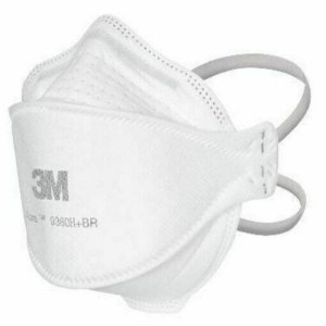 Mascara aura de Proteção Respirador 3m Pff2 N95 Sem Válvula PACOTE COM 20 UNIDADES