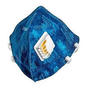 Máscara de Proteção respirador pff2 com Válvula 3m