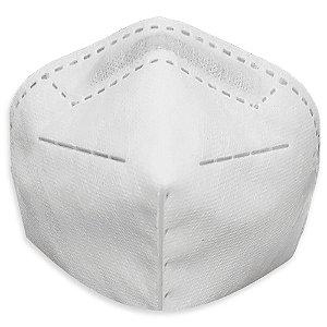 Máscara De Proteção Respirador Pff2 N95 Sem Válvula Mill