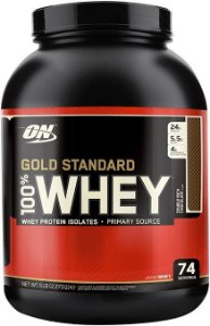 100% WHEY GOLD STANDARD ON (Pote Grande! 2252g) - OPTIMUM