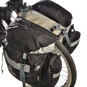 Alforge de bike 60L com Capa de chuva - Alto Estilo
