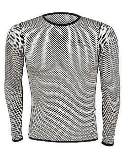 Camisa Segunda Pele Carbon - Masculino - Mauro Ribeiro