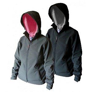 Jaqueta Trilhas Cinturata em Softshell - Trilhas e Rumos