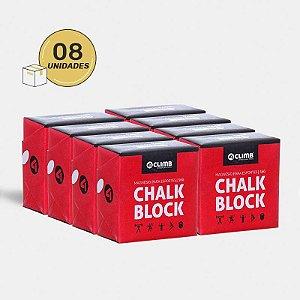 MAGNÉSIO CHALK BLOCK 56G - 8 Unid. - 4CLIMB