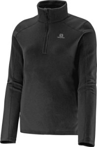 Blusa Fleece Polar 1/2 ZIP II - Feminino - Salomon