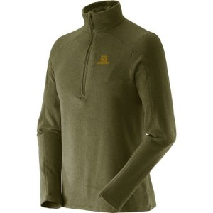 Blusa Fleece Polar 1/2 ZIP II - Masculino - Salomon