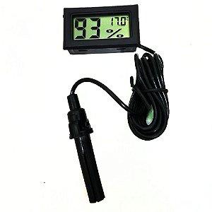 Termohigrômetro com Sonda Externa