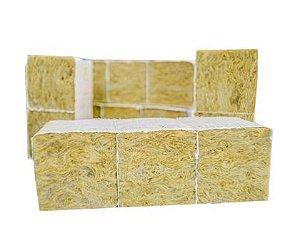 Lã de Rocha 4x4cm