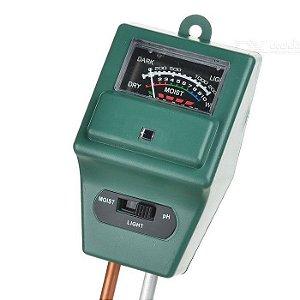 Medidor de pH, Umidade e Luminosidade