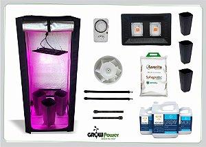 KIT LED EASY TO GROW 60x60x140 - 100w 110v