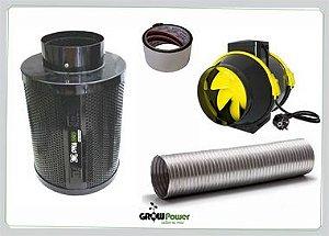 Kit Elimina Odores LARGE Turbo 220v