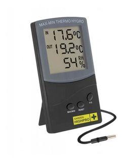 Termohigrômetro Garden HighPro Com Sonda Externa