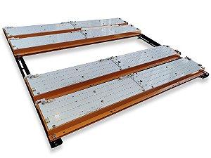 Painel Led Master Plants 480w FLEX Quantum Board Samsung LM283B + Deep RED + UV e IR