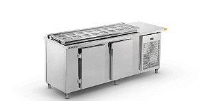 Balcão de Serviço Refrigerado Condimentador 2000 BSRCP