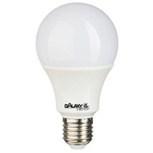 Lâmpada LED Bulbo 5W 3000K (Amarela)  - GALAXY - 2 anos de garantia.