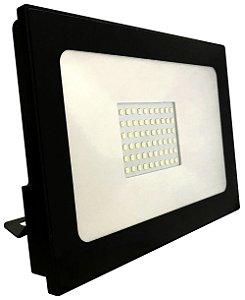 REFLETOR LED 30W PRETO 3000K