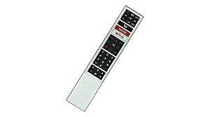 Controle compatível com Tv Aoc Led Smart 4k Youtube Netflix