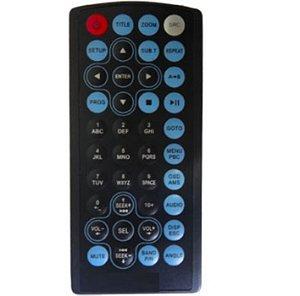 Controle Remoto Dvd H-buster Hbd-9200av / 9260 C/bateria