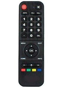 Controle Remoto Compatível com Receptor HTV Box 3 / HTV Box 5