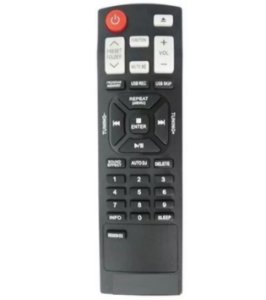 Controle Compatível com Som Lg AKB73655731 AKB73655721 Smart DJ Jukebox