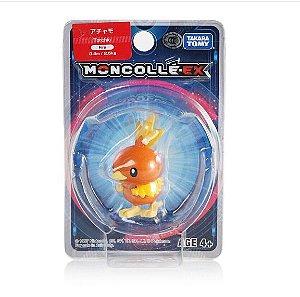 Torchic Figure colecionável Pokémon Moncolle-ex - Original Takara Tomy