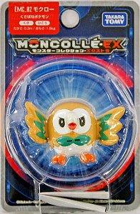 Rowlet Figure colecionável Pokémon Moncolle-ex - Original Takara Tomy