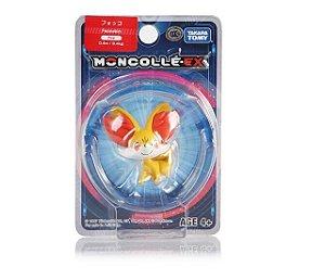 Fennekin Figure colecionável Pokémon Moncolle-ex - Original Takara Tomy