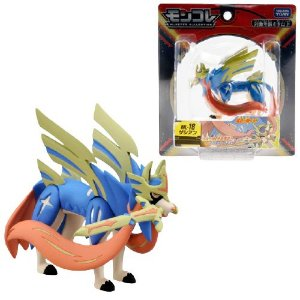Zacian Figure colecionável Pokémon Monster Collection Moncolle-ex - Original Takara Tomy