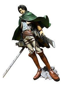 Levi Master Star Piece e Equipamento de manobra 3D Attack On Titan - Original Banpresto