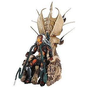 Predador Diorama Clan Leader Throne 33 Cm - Neca
