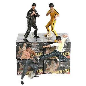Pack Bruce Lee com 4 Personagens - Cinema Geek