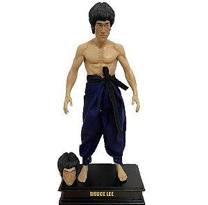 Estátua Bruce Lee 30 cm O dragão Chinês Jeet kune do - Cinema Geek