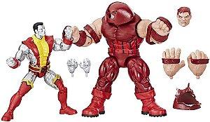 Pack Marvel Legends Colossus Vs Juggernaut 80th - Hasbro