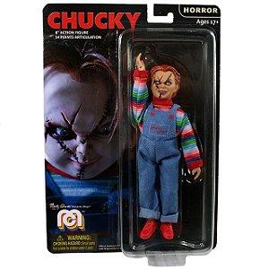 Mego Action Figure Chucky Oficial Series Horror Retrô - Mego Corporation