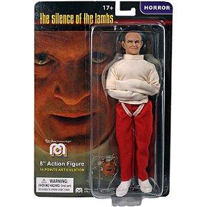 Mego Action Figure Hannibal O Silêncio dos Inocentes Oficial Series Horror Retrô - Mego Corporation
