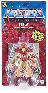 Teela Masters Of The Universe Origins Retrô - Mattel